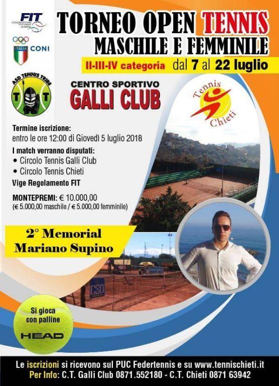 """2°-Memorial-""""Mariano-Supino""""-dal-7-al-22-Luglio-2018----orario-e-tabelloni"""
